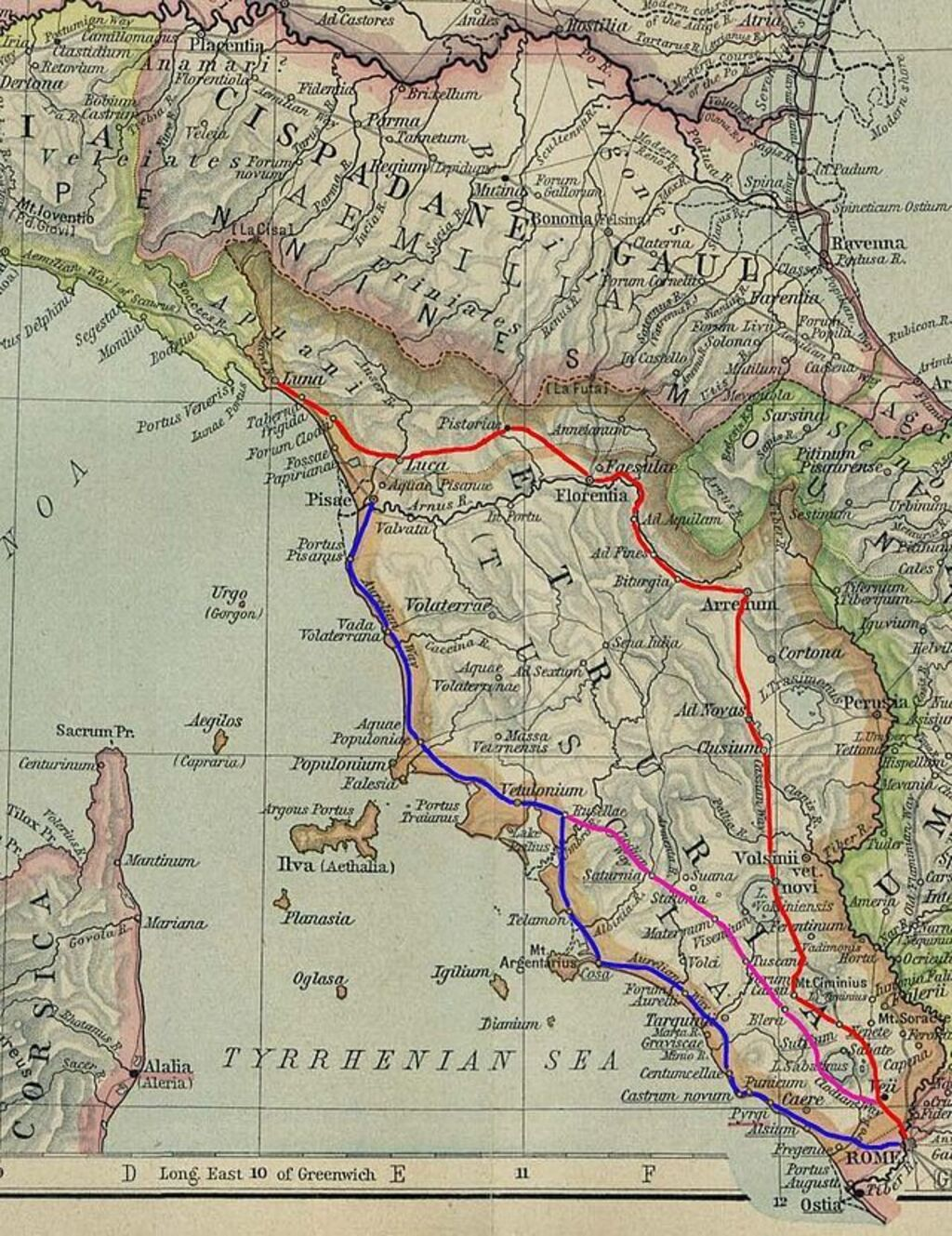 Viaje a lo largo de la antigua carretera de italia la v a clodia - L antica toscana cucine da incubo ...
