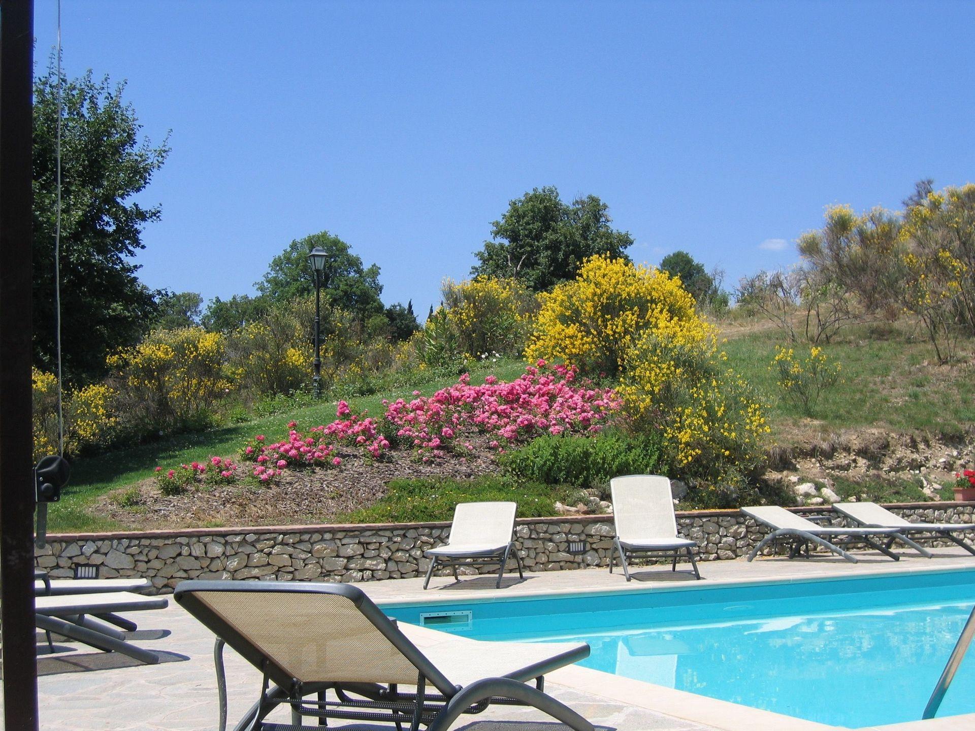 Villa Anghiari Casa De Vacaciones Con 7 Habitaciones Con