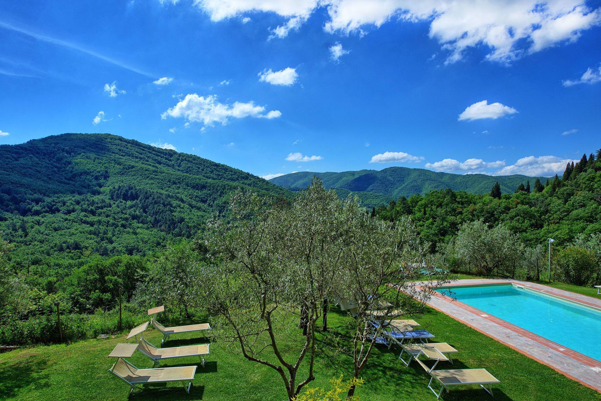 Villa Fabbroni - Fattoria San Polo con 26 Habitaciones con una ...